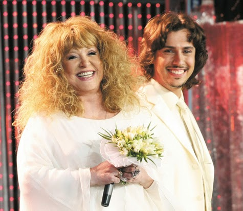 Celebration of the birth of babies Pugacheva and Galkin