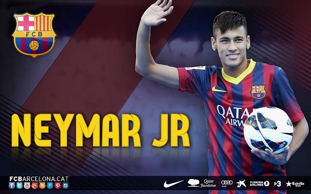 Neymar JR FC Barcelona 2014 HD Wallpaper