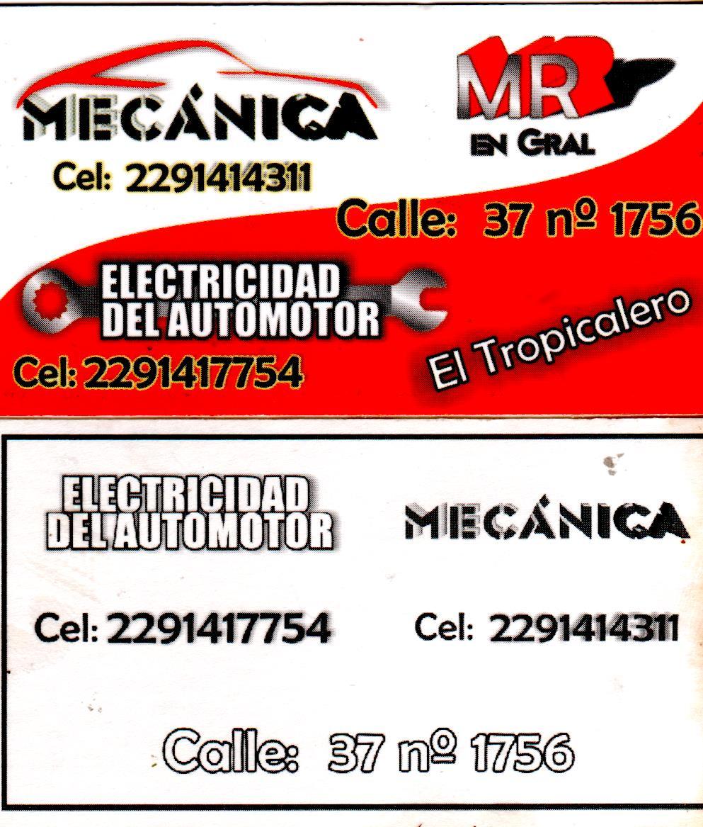 MECÁNICO -MR