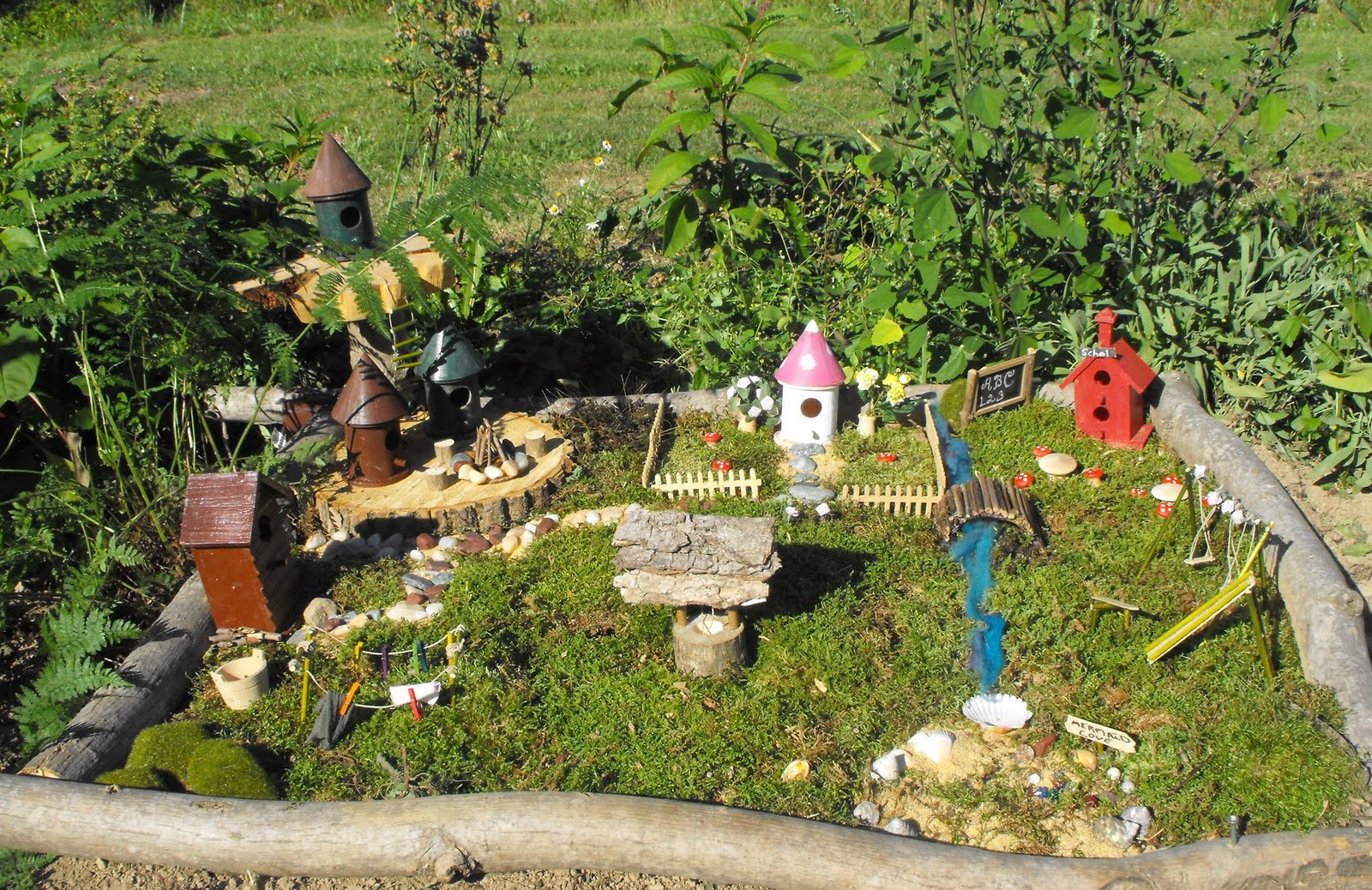My serenity our fairy garden for Fairy garden images