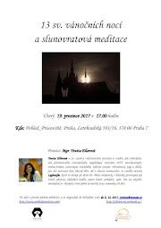 Slunovratová meditace v Praze
