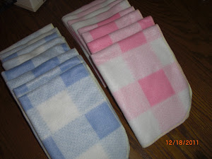 Preemie Fleece Blankets!