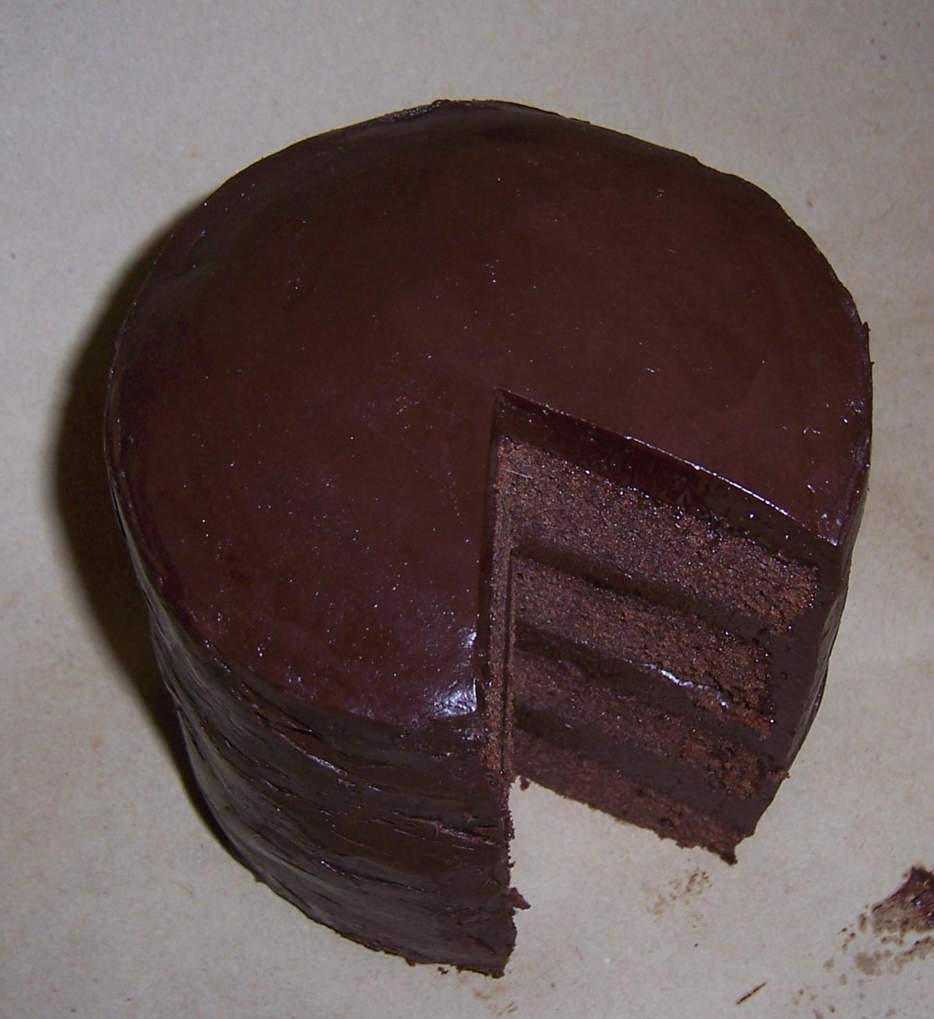 Chocolate Truffle Cake Images : tea darling?: Chocolate Truffle Cake - Death by chocolate ...