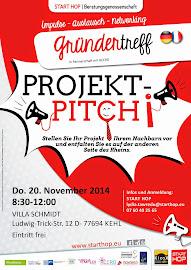 3. Gründertreffen des Jahres am 20. November in KEHL!