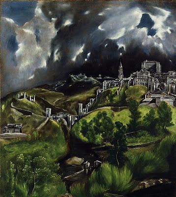 El Greco - vue de Tolede