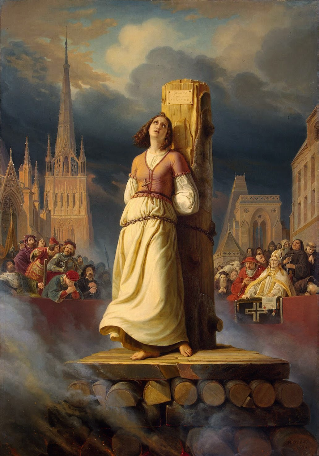 Joan of Arc – A poor peasant girl, who at a very young age rose from obscurity to shape the course of French and European history.