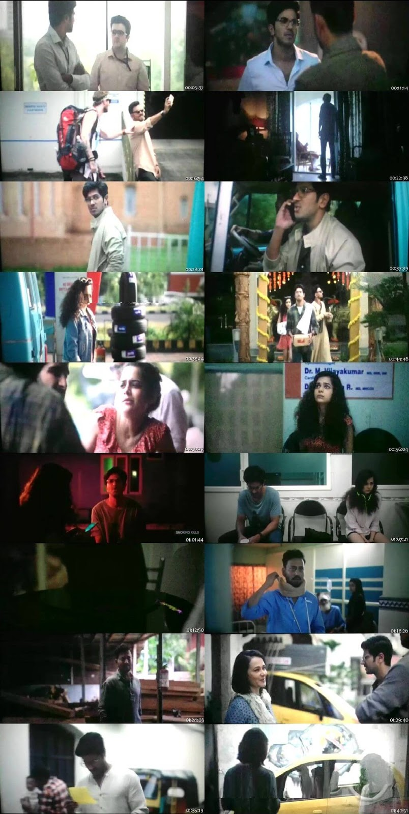 Screen Shot Of Karwaan 2018 300MB Pdvd Full Hindi Movie Watch Online Free Download