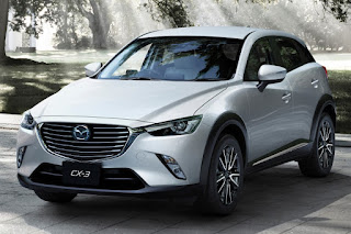 2016 All New Mazda CX-3 comvatible front view