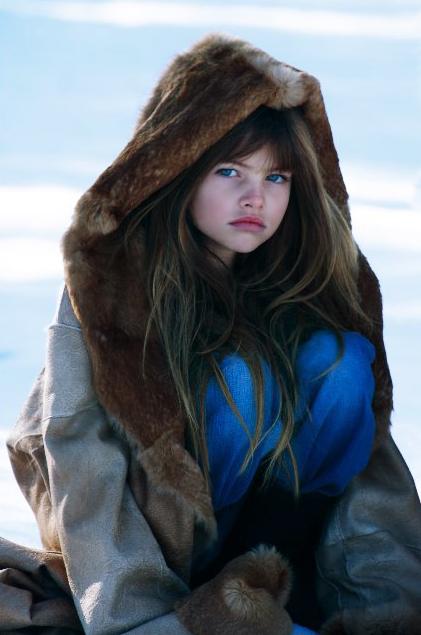 Years Old Model Thylane Blondeau