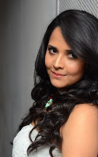 Anasuya looks super cool and trendy at Dynamite Audio Launch