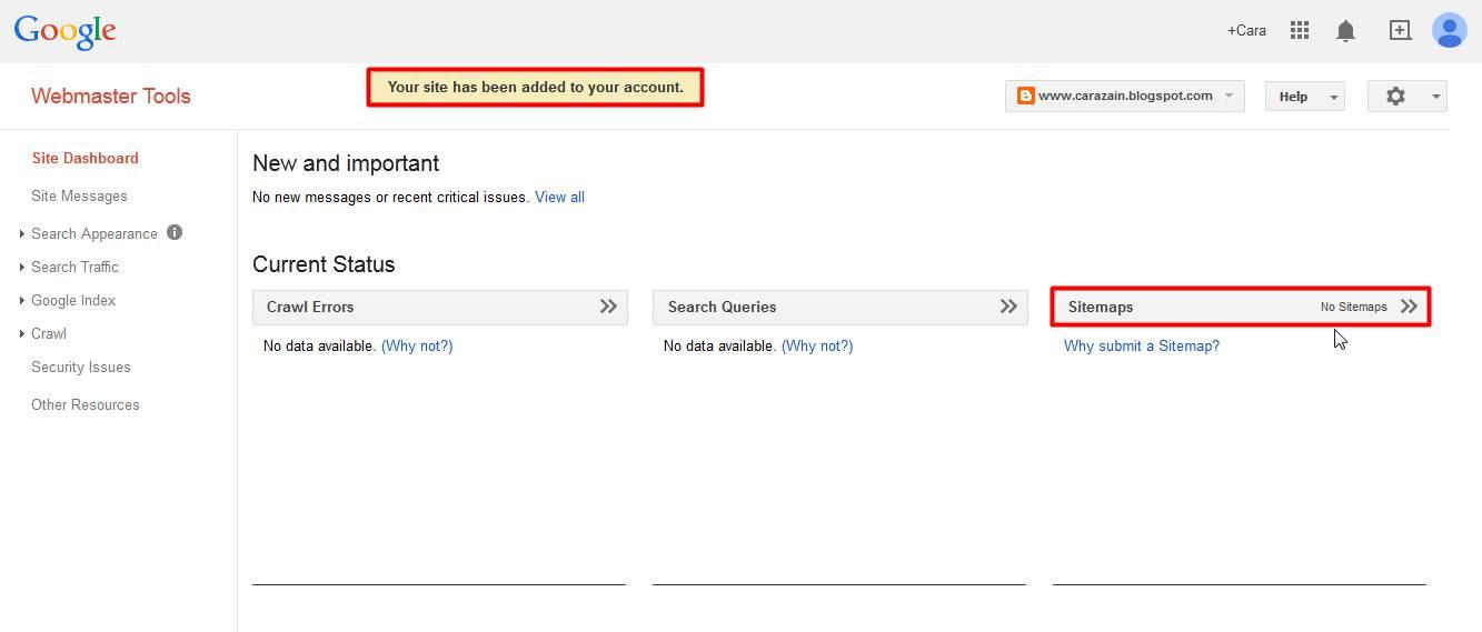 Cara Mendaftarkan Blog/Website Ke Search Engine dengan ...