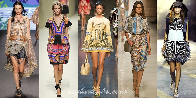 New Ethnic: Hot Spring Summer 2014 Fashion Trends