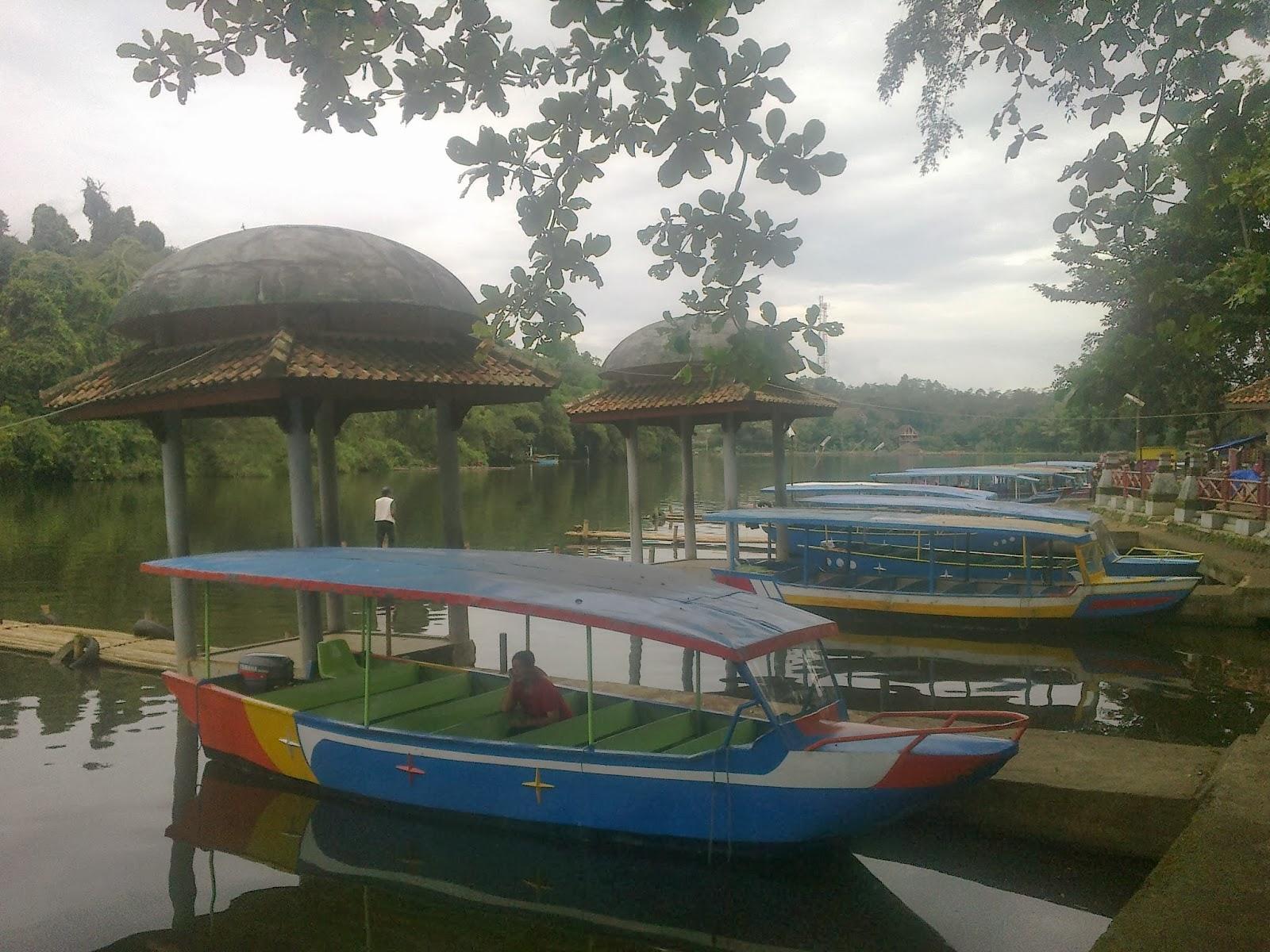 Objek Wisata Situ Lengkong Panjalu, Ciamis