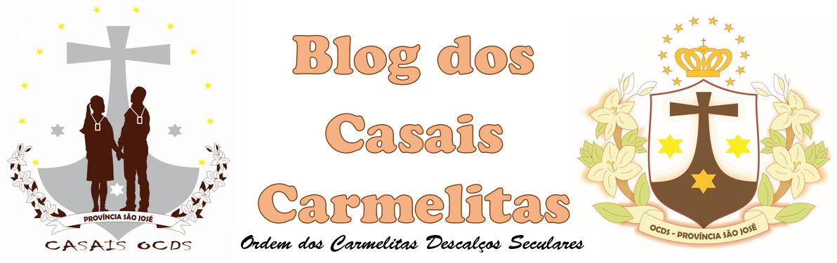 BLOG DOS CASAIS CARMELITAS