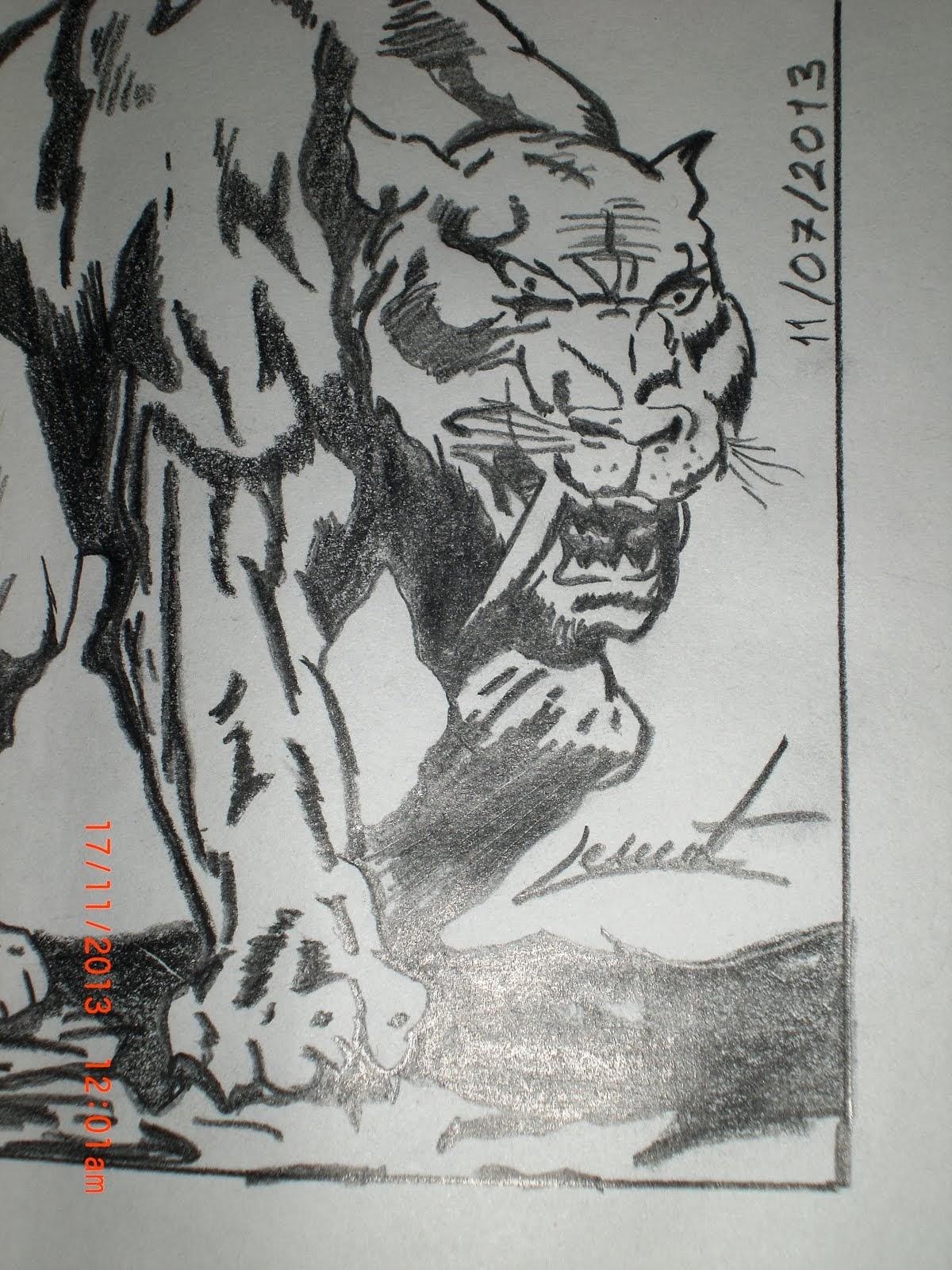 Pisicik çizdim :)