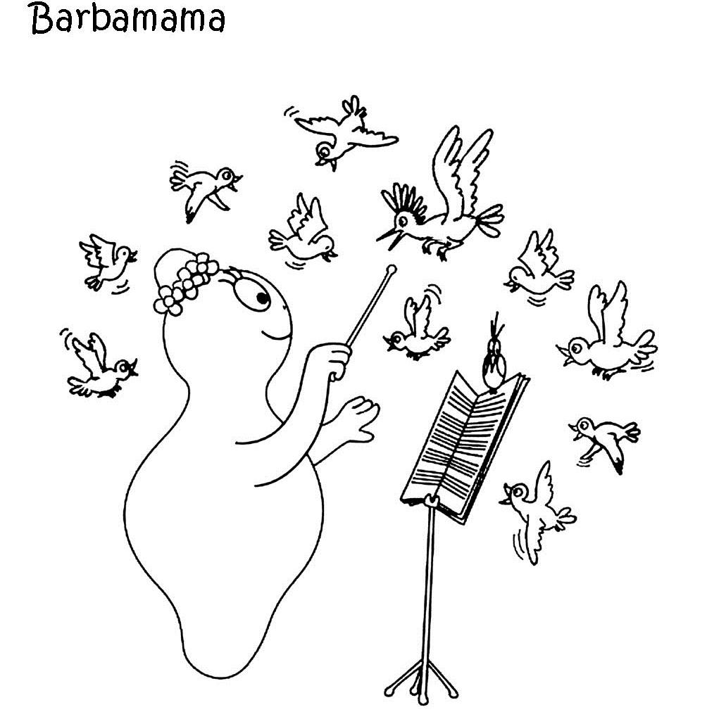 Desenhos para Colorir e Imprimir: Barbapapa desenhos para colorir e ...