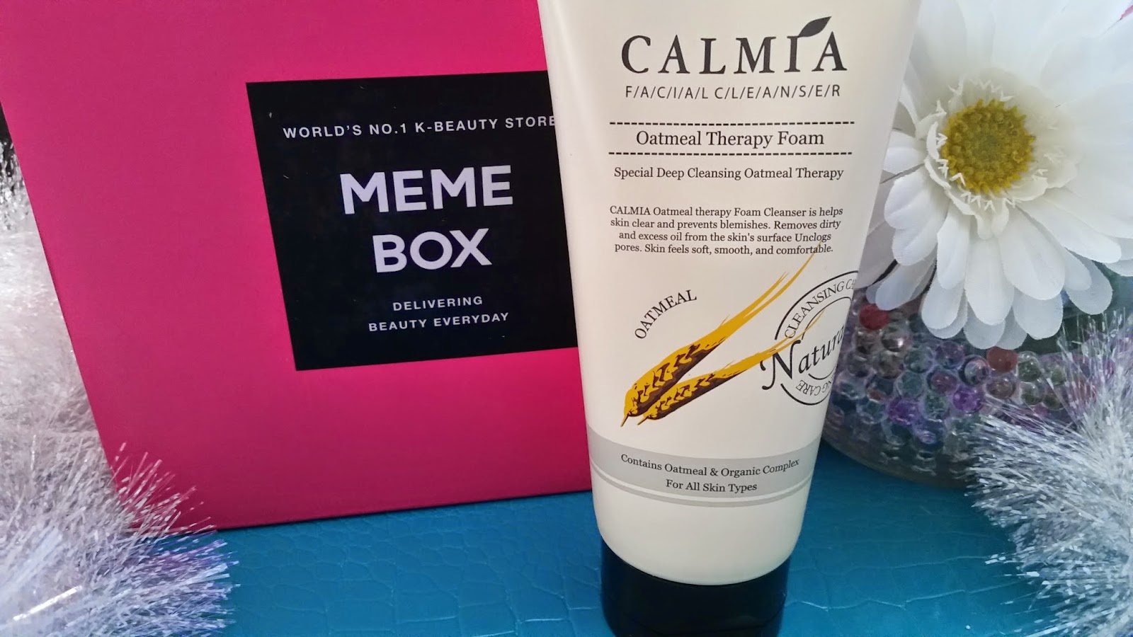 Calmia Facial Cleanser Oatmeal Therapy Foam