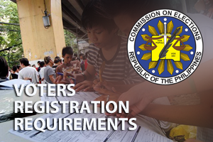 VOTERS REGISTRATION REQUIREMENTS