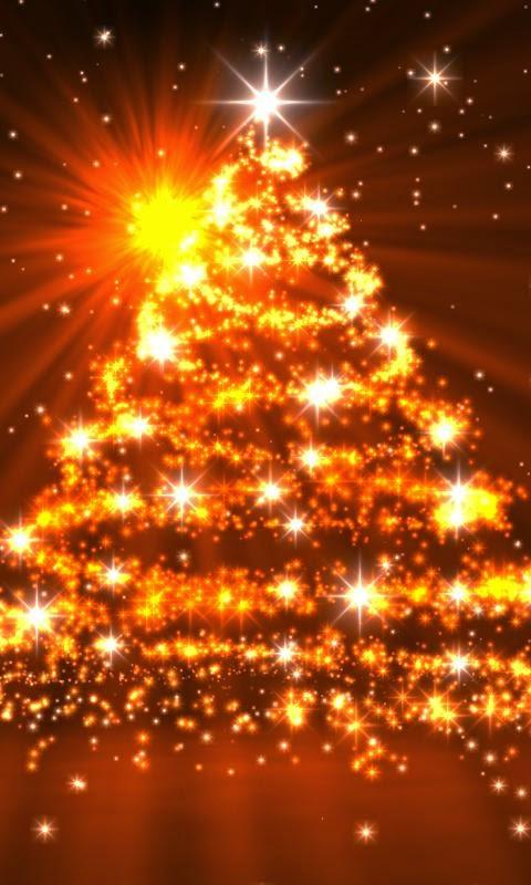 arbol navideños dorado