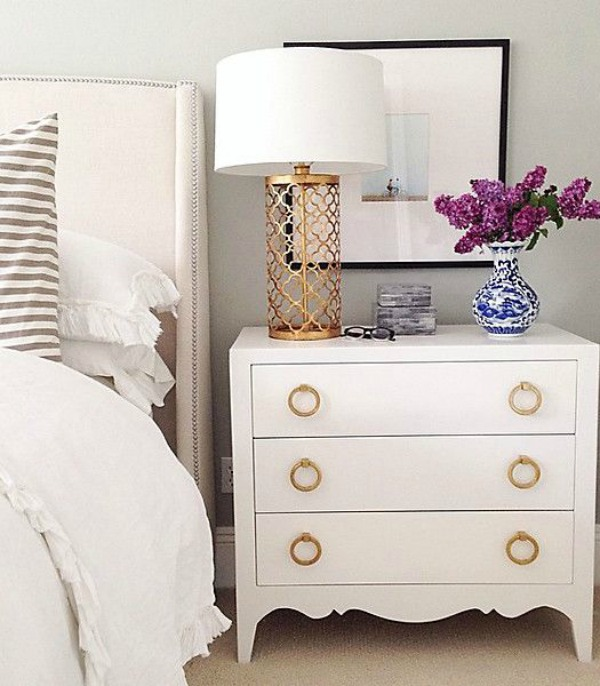 Elect to have your desk next to your bed, and you have another piece of  furniture to utilize as a night stand.