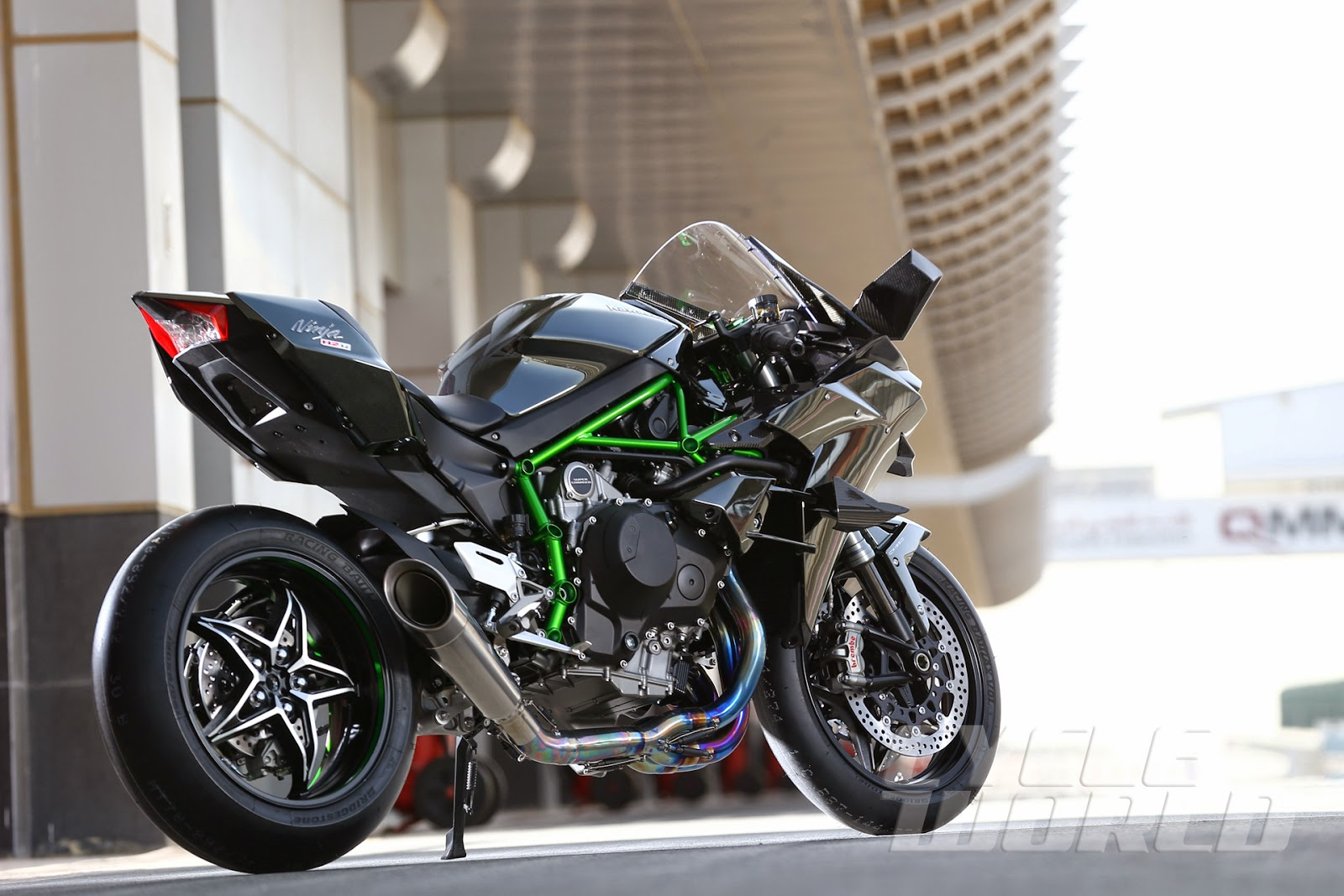 Racing Caf 232 Kawasaki Ninja H2r Details Cycle World