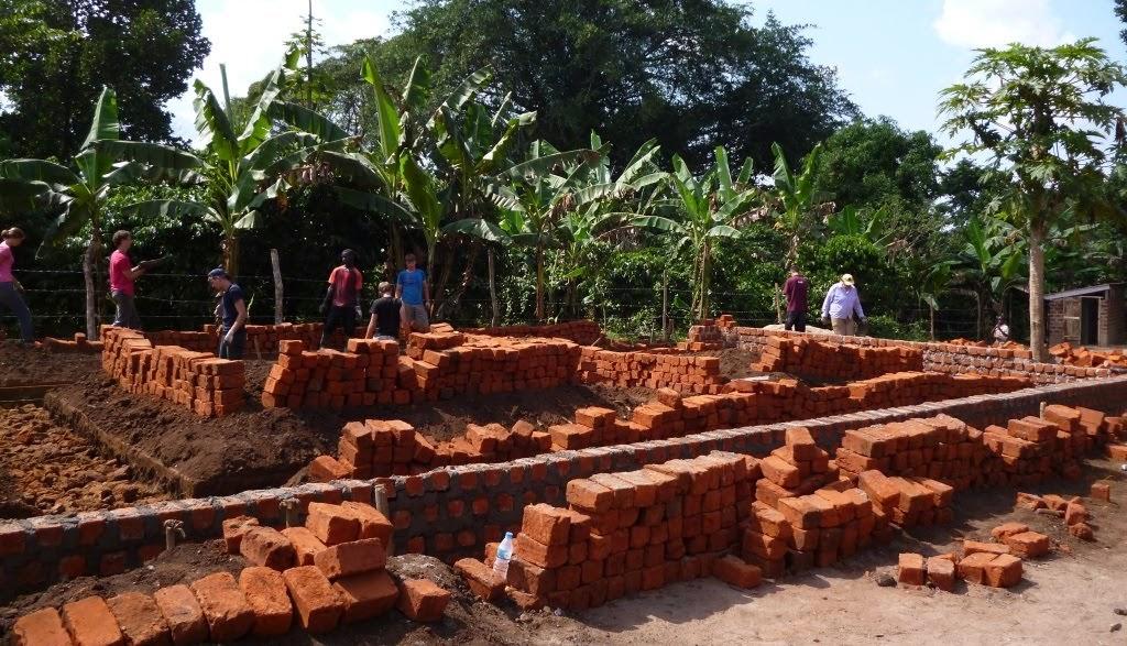 2 - fundament voor schoolgebouw