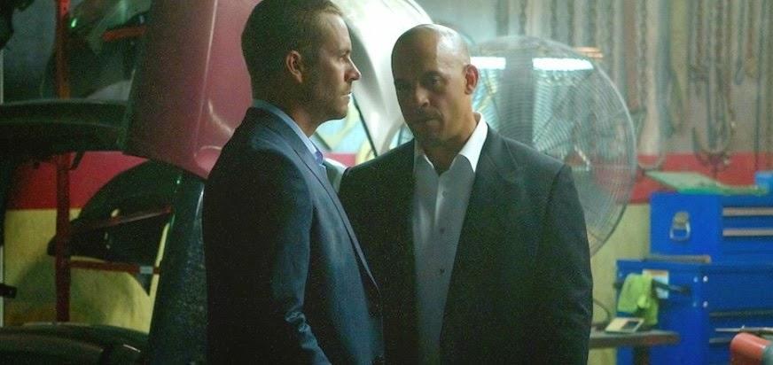 Paul Walker e Vin Diesel em imagens inéditas de Velozes e Furiosos 7