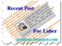 Recent post style list with thumbnail for laber and post - Bài viết mới dạng list có mô tả cho nhãn và blog