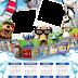 Calendário Infantil Com Personagens de Filmes de Animação para Imprimir