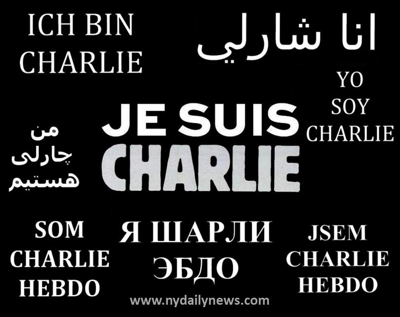 In Memoriam: #JeSuisCharlie.