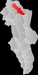 Locatie Gemeente Tolga in Hedmark