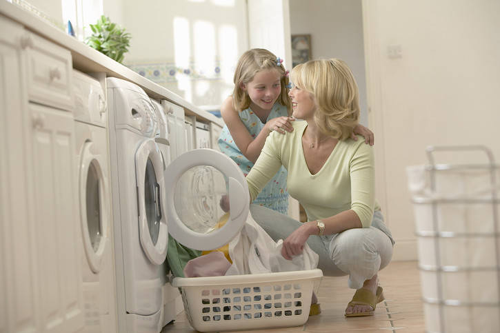 Life as a mother of many large family organization for Large family laundry