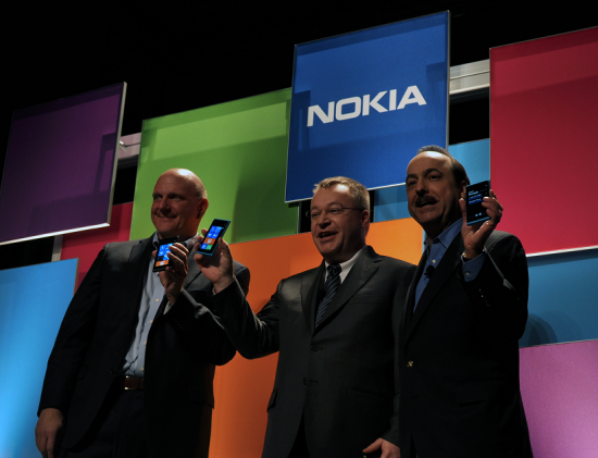 AT&T with Nokia CEO