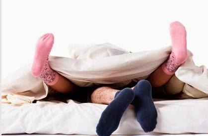 Con medias puestas aumenta la posibilidad de alcanzar un orgasmo