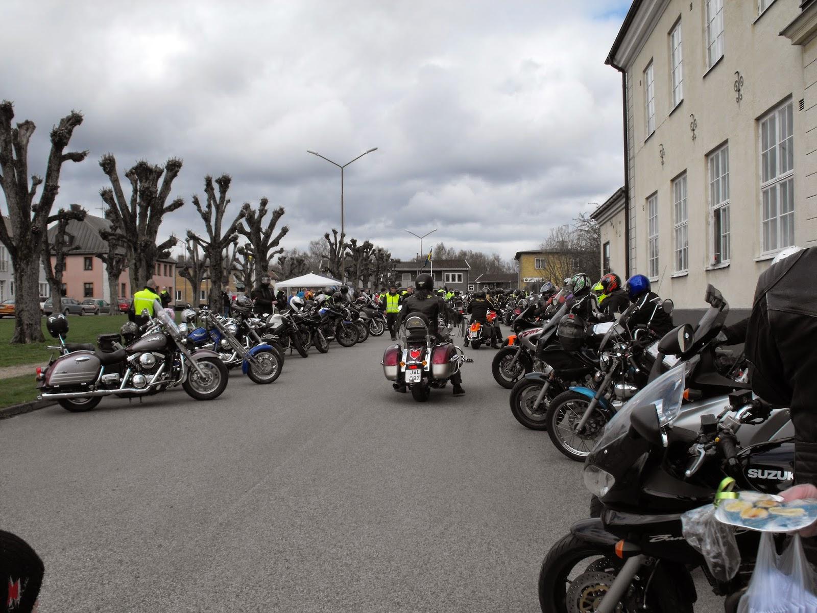 Vårmarknad i Sösdala, Sösdala, vårmarknad, marknad, Lille Mads rally, motorcyklar