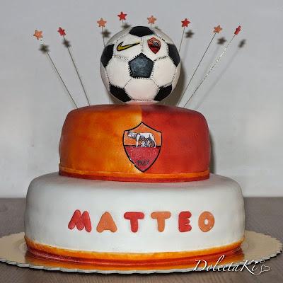 torta della roma pallone