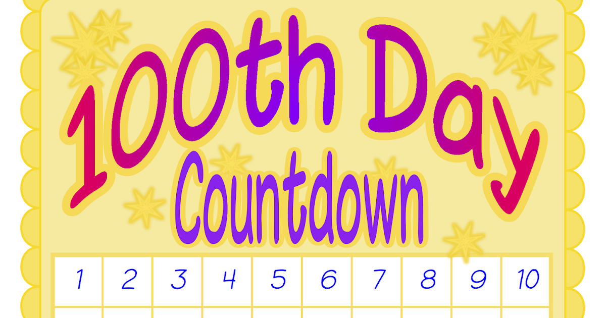 Download Classroom Treasures: 100th Day Posters