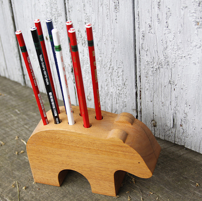 bear pencil holder