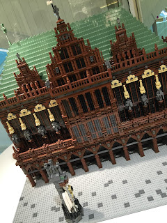 LEGO Bremen City Hall Close up