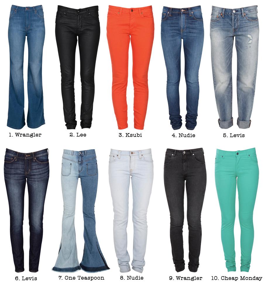 Denim - Liste Des Pantalons En Denim Rbdzv