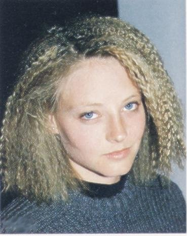90s crimped hair