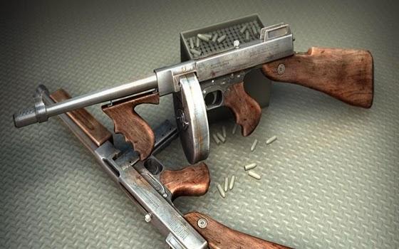 Thompson M1921 Submachine Gun