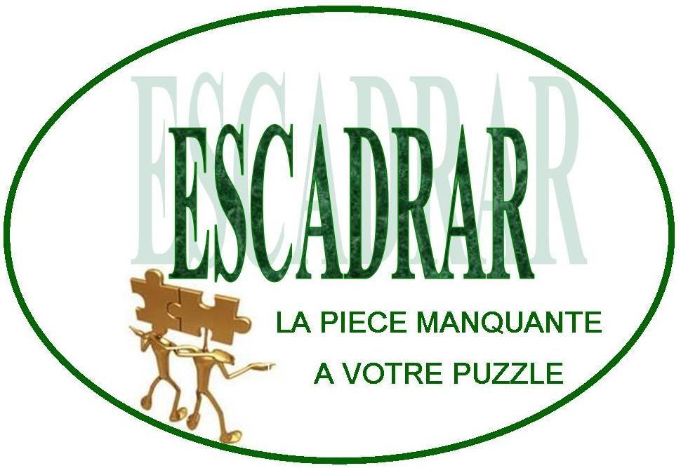 """Présentation ESCADRAR """"cliquer sur le logo pour ouvrir"""""""