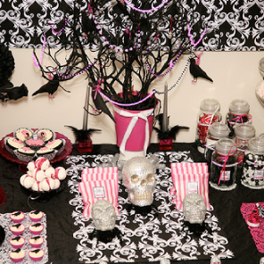 My Halloween table 2009 by Torie Jayne