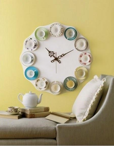 Relógio de Xícaras