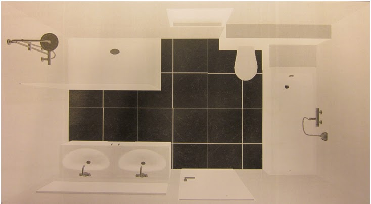 Ons huisje: Keuze van de badkamer bij Lambrechts te Hasselt