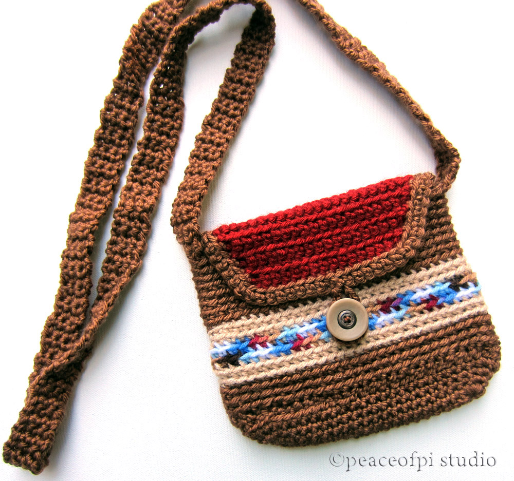 Crochet Purse, No Pattern Necessary