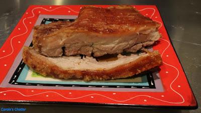 Carole's Chatter: Crispy Pork Belly