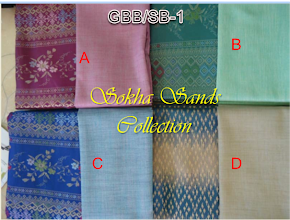 Songket Cambodia Gred BB