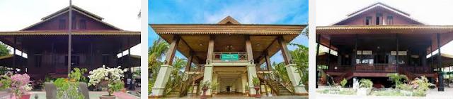 Desain Rumah Aceh bali Jawa dan Penjelasannya